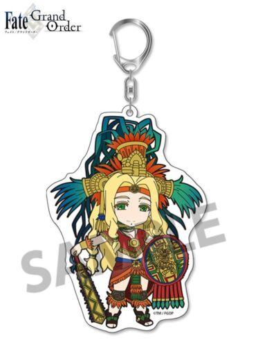 Pic-Lil Pikuriru Fate//Grand Order Trading Acrylic Keychain 5 Rider Quetzalcoatl