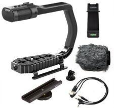 Sevenoak MicRig Video Grip Stereo Microphone Handle f/ DSLR Camera//iPhone/GoPro