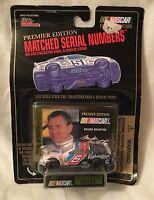 Racing Champions Mark Martin 1/64 Premium Edition Car Card & Display Stand