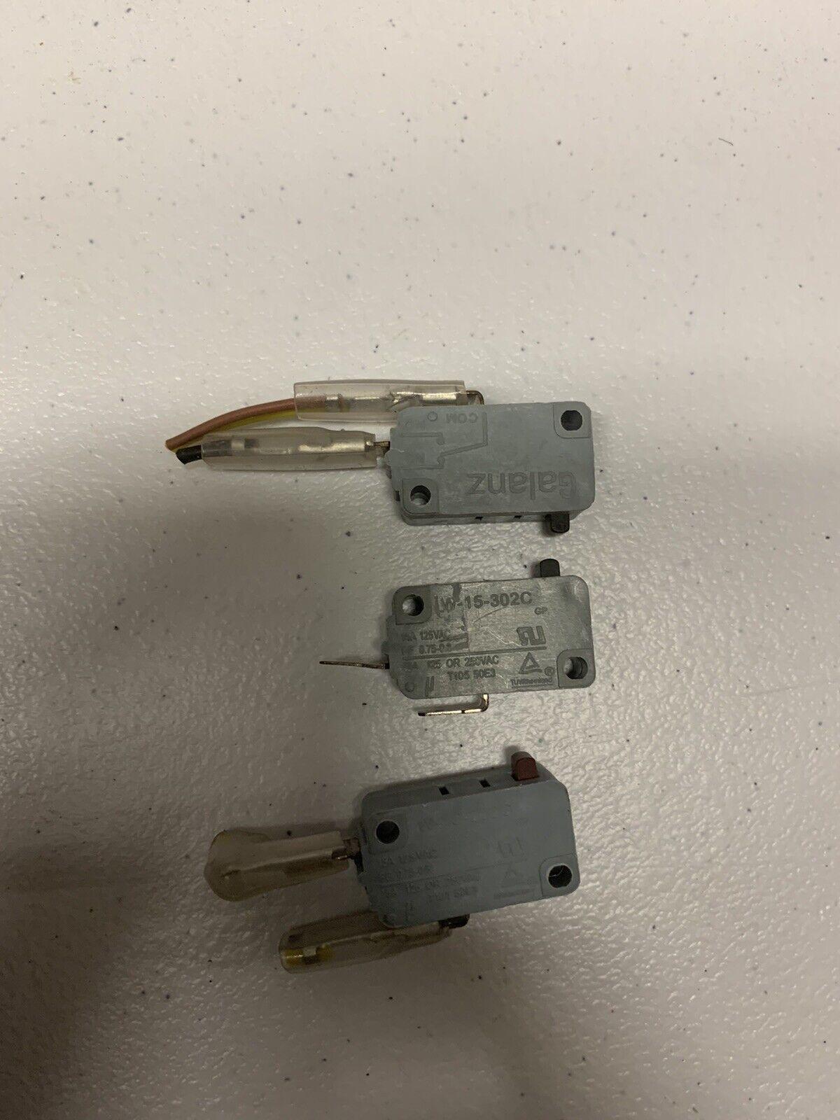 Microwave Oven Door Micro Switch W 15
