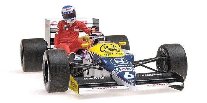 MINICHAMPS 1 18 'WILLIAMS FW11 F1 CAR. N PIQUET, GERMAN GP 1986 K ROSBERG RIDING