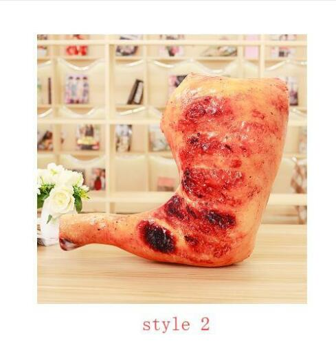 plush toy Chicken leg chick wing drumstick fried rice noodles pillow cushion 1pc