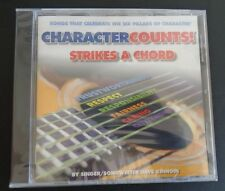 CHARACTER COUNTS! Dave Kinnoin STRIKES A CHORD Music CD New 2010 FREE SHIPPING