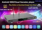 Vietnamese /English /Chinese KHP-8856 Android, Cloud Karaoke player 4K, No HDD.