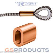 1.5mm Copper Steel Wire Rope Ferrule Crimp Sleeve FREE P+P