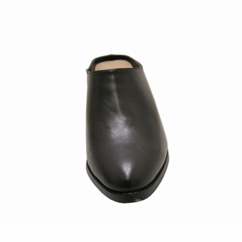 Women/'s Shoes Pierre Dumas CANDRA-1 Slip On Chunky Heel Mules 87620 BLACK