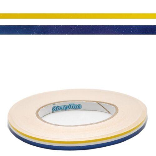 Blue 7//16 In Boat Pinstripe Deck Tape Roll Larson Glastron 0572948 Yellow