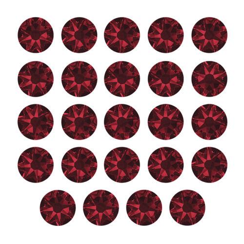 Swarovski Crystals 2078 Hotfix Round Flat Backs SS20 Siam K66//11 Pack of 24