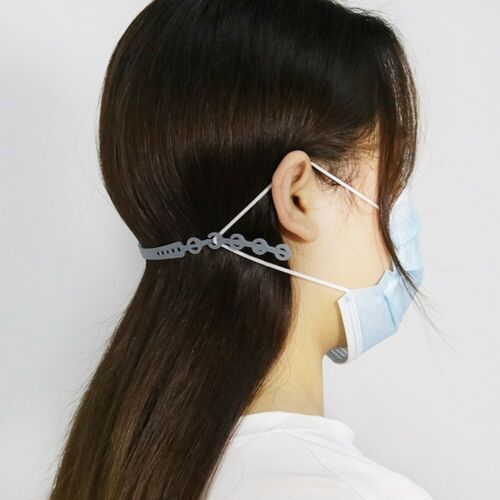 8Pcs Mouth-muffle Extension Buckle Adjustable Ear Extension Hook Strap 22.5cm