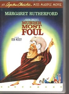 AGATHA-CHRISTIE-039-S-MURDER-MOST-FOUL-DVD-R1-Margaret-Rutherford-LIKE-NEW
