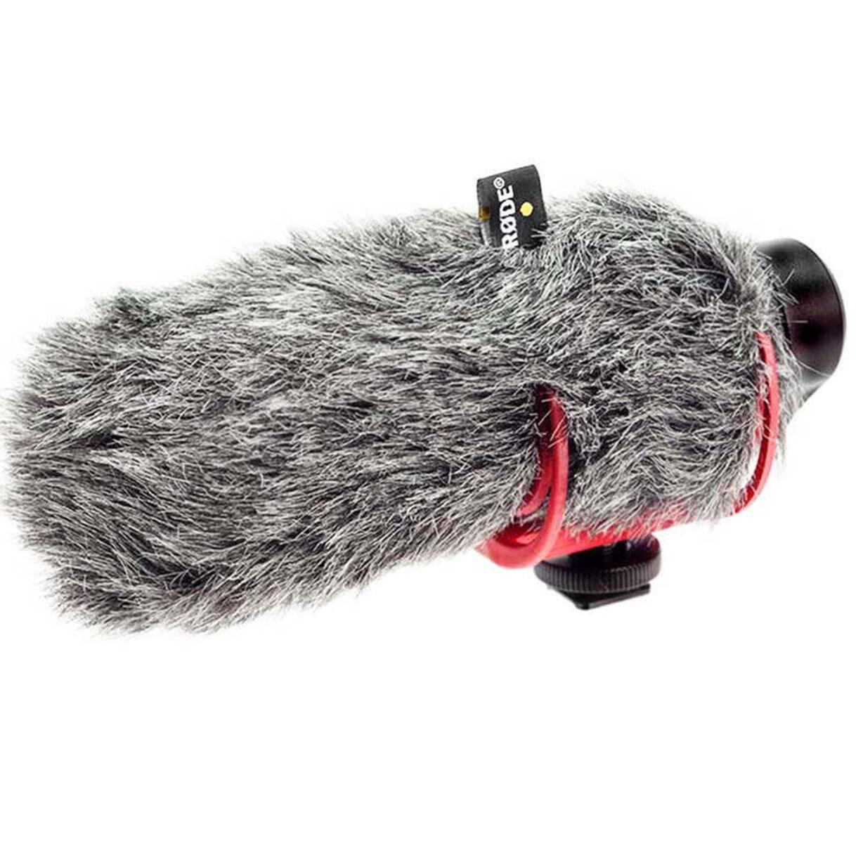 New Rode VideoMic GO hot Shoe On-Camera Shotgun Microphone + Rode VM GO Dead Cat 3