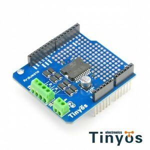 Details about Ardumoto UNO/MEGA Motor Driver Shield(For Arduino L298P  /AVR/LPC/STM32 )
