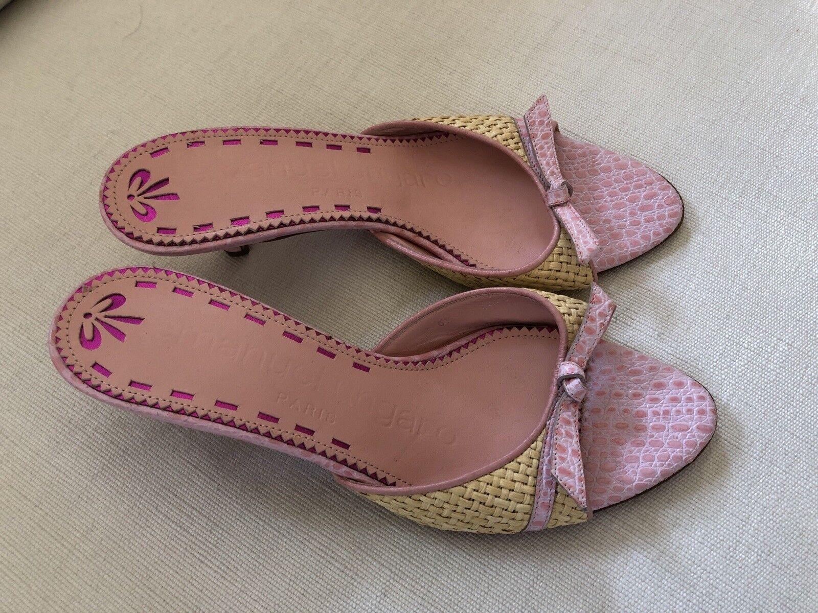 Brand New rafia Sandales by UNGARO