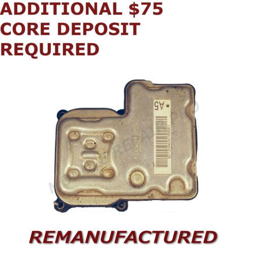 REMAN 01 02 03 04 05 Chevy Silverado 1500 ABS Pump Control Module EBCM />EXCHANGE