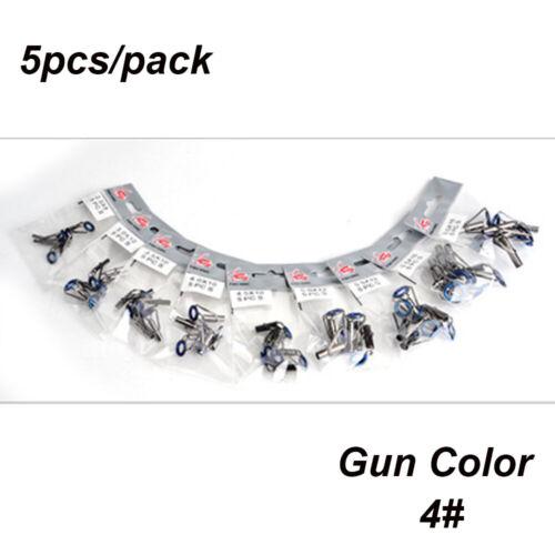 Steel Tip Repair Kit Eye Ceramic Ring Tackle Box Accessories Fishing Rod Guide