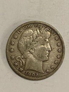 1905 Barber Half Dollar