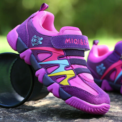 Children Sports Kids Shoes Boys Girls Running Sneaker Trainers Athletic Mesh