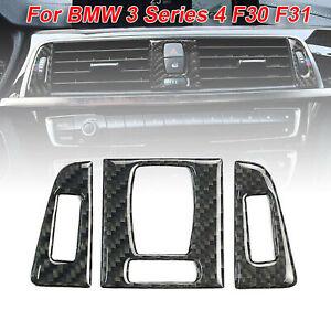 Auto-Anteriore-Sfiato-Pannello-Decoro-Adesivo-Accessori-per-BMW-3-Serie-4-F30