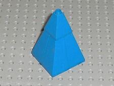Toit LEGO castle blue roof 4 Slope Brick ref 3685 + 3688 / set 6091 6098 ...
