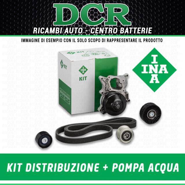 Kit Distribuzione + Pompa Acqua INA 530023930 PEUGEOT 206 1.4 HDi 68CV 50KW