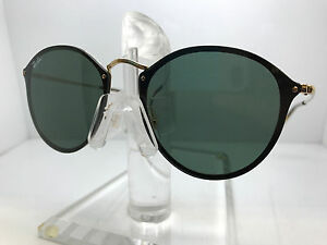 AUTHENTIC RAY BAN RB 3574N 001 71 GOLD GREEN LENS   eBay 6f49c8722e