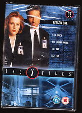 THE X FILES - SEASON 1 - 03 - EPISODES 9 - 12 - NEW & SEALED R2/4 DVD