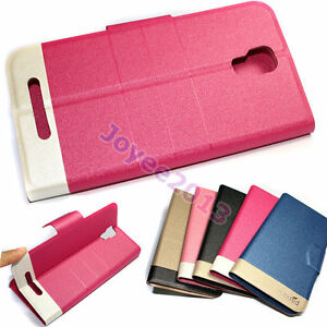 reputable site f4baf 0f54c Details about Luxury PU Leather Wallet Case Cover For Kogan Agora 8 / 6 4G  LTE/ 4G Pro /3GLite