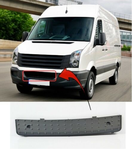 VW CRAFTER 2006-2017 FRONT BUMPER STEP COVER MAT-BLACK INSURANCE APPROVED NEW