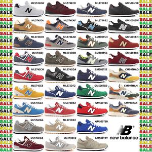 New-Balance-574-500-373-997H-scarpe-sportive-sneakers-da-uomo-comode-con-lacci