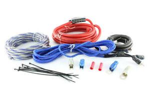 MASSIVE AUDIO Complete 4 Gauge 100% OFC Amplifier Wiring Kit   G4