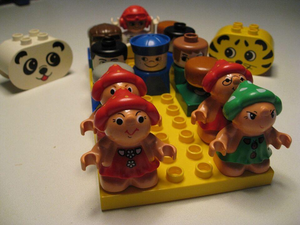 Lego Duplo, Duplo figurer
