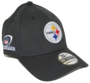 newest e44b2 b94dd Image is loading Pittsburgh-Steelers-New-Era-NFL-39THIRTY-Team-Classic-