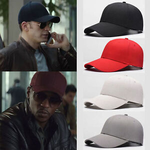 df3b19a27 Details about New Men Blank Plain Snapback Hats Unisex Hip-Hop Adjustable  Bboy Baseball Caps *