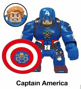 Hydra Captain America Marvel Superhero Mini Action Figure Toy Avengers Lego Moc