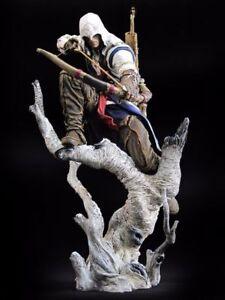 Connor-Assassin-039-s-Creed-III-3-Connor-The-Hunter-PVC-Figure-Statue-New-Box
