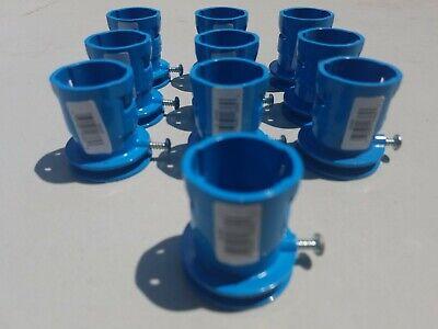 """of 50 CARLON  Plastic Conduit Connectors 1//2/"""" EMT CPLG A140D Lot"""