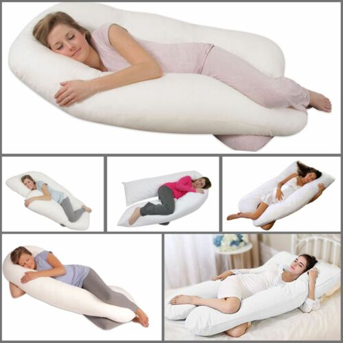 U Shaped Pillow Pregnancy Maternity Full Body Nursing Hollow Fibre Filling