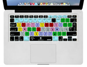 Details about XSKN Adobe Illustrator Keyboard Cover Hotkey Skin for old  MacBook Air Pro 13 15