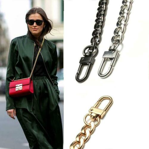 Metal Flat Chain Replacement Strap for Shoulder Bag Handbag Crossbody Bag Belts