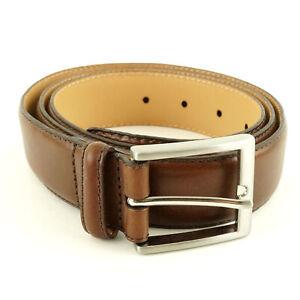 Full-Grain Leather Belt Italian Leather Kirkland Signature