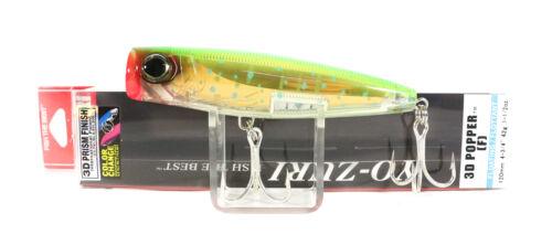 5500 Yo Zuri 3D Popper 120 mm Floating Lure R1168-CPDR
