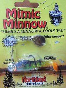 Northland-Mimic-Minnow-Spinnerbait-1-8-Oz-Perch-Bass-Redfin-Perch-Lure