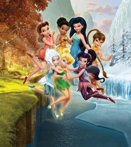 Disney Fototapete Tapete Feen Tinkerbell Mädchen mit Kleister Des-111