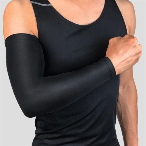 Football Basketball Sport Long Sleeves Armlet Men Hand Arm Elbow Protector Guard