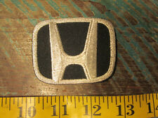 "HONDA ""H"" RACING PATCH ACCORD CIVIC FIT CVR S2000 S500 S600 S800 IRL INDY CARS"