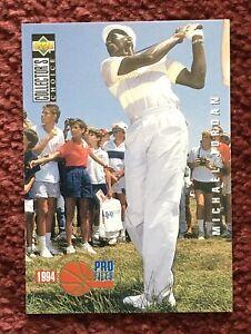 MICHAEL-JORDAN-1994-Upper-Deck-Pro-File-204-Golf-Card-Rare