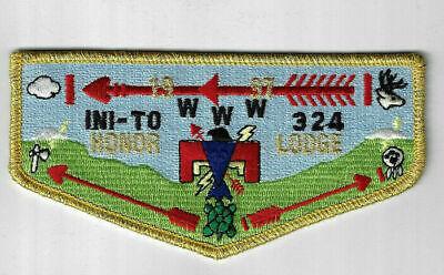CD896 OA Lodge 324 Ini-To S33 Flap Flint River Council Griffin GA
