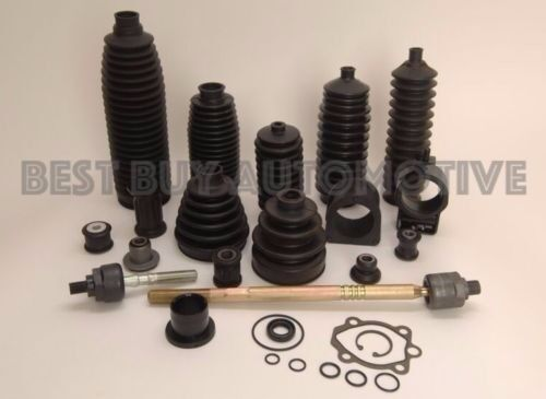 6 PIECE KIT-2 Boots 4 Clamps-Fits Rack /& Pinion Bellow//Boot Dodge Durango 4WD