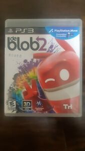 De-Blob-2-Complete-Case-Game-Disc-Manual-PS3-Playstation3-2011