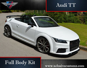 Audi TT RS Xclusive Design Full Body Kit For Audi TT MK J To MK - Audi tt convertible